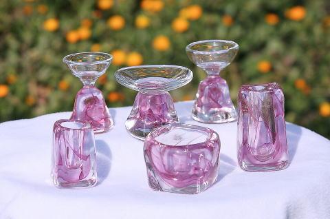 ガラス製供養仏具[No.2042]の商品画像