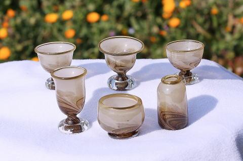 ガラス製供養仏具[No.2043]の商品画像