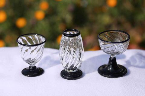 ガラス製供養仏具[No.2044]の画像