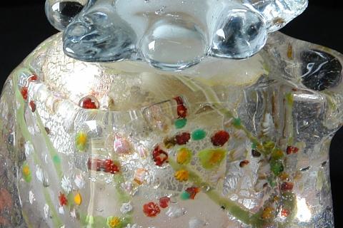 手元供養ガラス骨壷(骨壺)  [弥生]のイメージ画像02