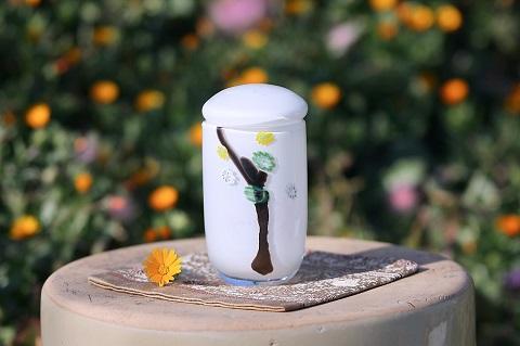 手元供養ガラス骨壷(骨壺)  [和人]の商品画像