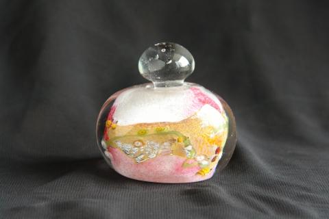 手元供養ガラス骨壷(骨壺)  [香水ビン(パヒュームボトル)]の商品画像