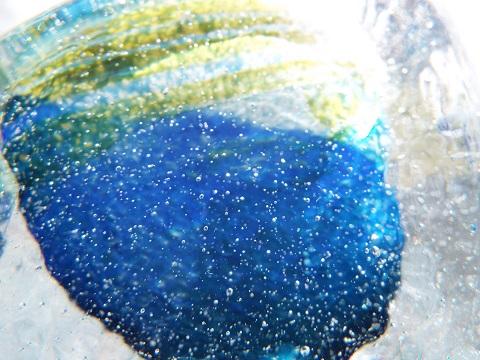 手元供養ガラス骨壷(骨壺)  [未明の山々]のイメージ画像03