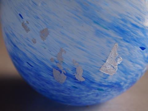手元供養ガラス骨壷(骨壺)  [波しぶき]のイメージ画像03